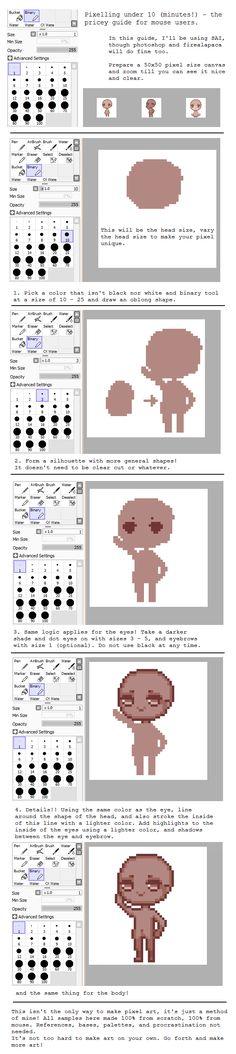 Pixel art tutorial by pricechi.deviantart.com on @deviantART