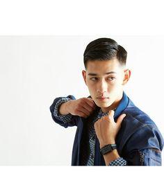 Asian Men Hairstyle, Asian Hair, Asian Men Fashion, Mens Fashion, Keisuke Asano, Faded Hair, Hairstyles Haircuts, Beautiful Men, Brows