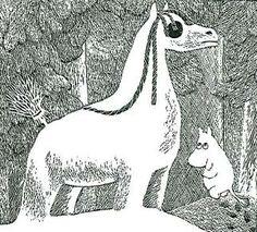 Taikatalvi by Tove Jansson Moomin Books, Moomin Valley, Winter Illustration, Tove Jansson, Weird Art, A Comics, All Art, The Book, Helsinki