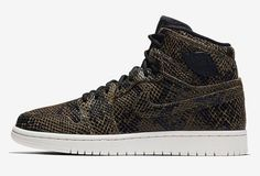 "197ca611cfa8a5 KicksOnFire on Instagram  ""Another snakeskin Air Jordan 1 is here"