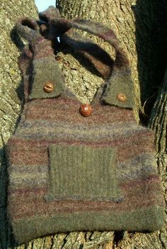 purses made from recycled sweaters | Purses Made From Recycled Sweaters | Recycled Sweater Purse Earth ...
