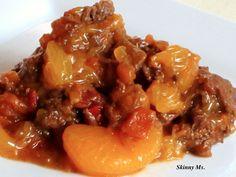 Slow cooker Mandarin Beef