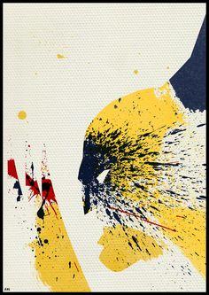Super Heroes: Painted by Arian Noveir, via Behance