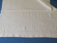 Antique linen towel