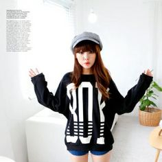 Buy 'Cocopop – Lettering Drop-Shoulder Pullover' at YesStyle.com plus more South Korea items and get Free International Shipping on qualifying orders.