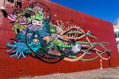 great Mural by Eko Nugroho in Perh