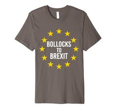 European Union T Shirt EU Flag Brexit Euro Stars Remain Gift Kids Children Top