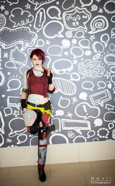 Character: Lilith the Siren / From: 2K Games & Gearbox Software's Borderlands series / Cosplay Model: PureLight Cosplay