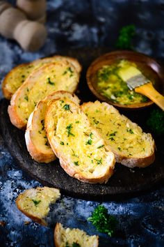 Quick, easy to make and finger-licking good, Garlic and Herb Bread is the quintessential appetizer, and one that you just can't go wrong with.