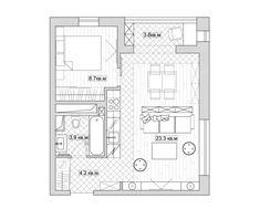 Небольшая квартира в Москве от KS Architects - Дизайн интерьеров | Идеи вашего дома | Lodgers