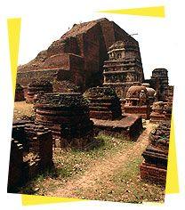 Nalanda- One of the world's earliest Universities. Bihar, India.