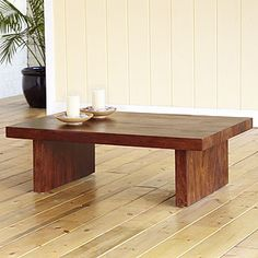 I like the simplicity of this coffee table.
