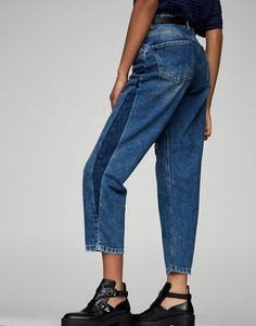 Jeans comfortfit - Denim Collection - Trends - Dames - PULL&BEAR Netherlands