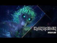 """Iron Maiden homenageia games clássicos em seu novo vídeo. Veja """"Speed Of Light"""" #Clipe, #Música, #Novo, #Vídeo http://popzone.tv/iron-maiden-homenageia-games-classicos-em-seu-novo-video-veja-speed-of-light/"""