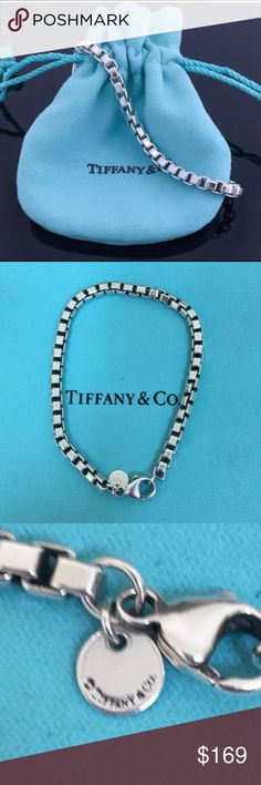 🔴Authentic Venetian Tiffany & Co Bracelet ❤️🔴 Mint condition. Worn only one time .marked 925 and T&Co Tiffany & Co. Jewelry Bracelets