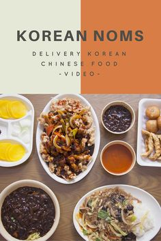 Korean Noms // DELIVERY Korean Chinese Food!