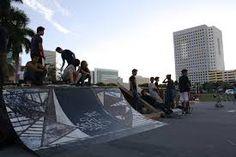 Image result for downtown skatepark Skate Park, Urban, Image, Green