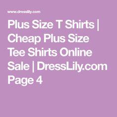 Plus Size T Shirts | Cheap Plus Size Tee Shirts Online Sale | DressLily.com Page 4