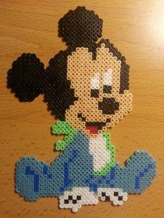 Mickey Mouse hama perler beads by Carlos Gomez-Pabon Diaz