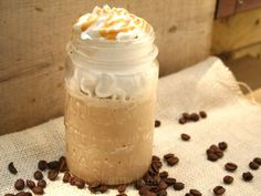 Skinny Frappuccino Using frozen milk cubes - great idea. Skinny Frappuccino Using frozen milk cubes - great idea. Skinny Frappuccino Using frozen milk cubes - great idea. Smoothies, Smoothie Drinks, Yummy Treats, Sweet Treats, Yummy Food, Delicious Recipes, Yummy Drinks, Fun Drinks, Beverages