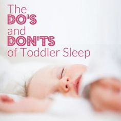 Strategies that will help your toddler (and you) sleep through the night