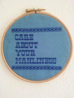 Spam Stitch 140511 by Jamie Chalmers aka Mr X Stitch. I OWN THIS ONE!!! I RULE!!