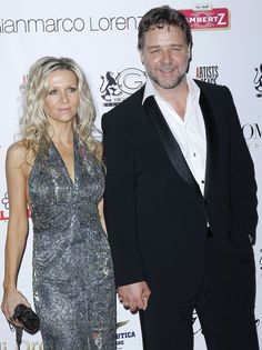 another couple bites the dust, sadly, I liked these two. Russell Crowe and Danielle Spencer.