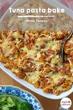 Tuna pasta bake for kids - Tuna pasta bake. Try this quick, cheap and tasty fish recipe, as a teatime meal to cook for all the - Tasty Fish Recipe, Tuna Fish Recipes, Baked Pasta Recipes, Cooking Recipes, Gnocchi Recipes, Savoury Recipes, Easy Tuna Pasta Bake, Tuna Bake, Bacon Pasta