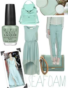 Seafoam trend 2014. More inspiration at: http://www.valenciamindfulnessretreat.org