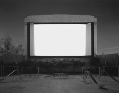 Hiroshi Sugimoto, Theatres; Tri-City Drive In, 1993.