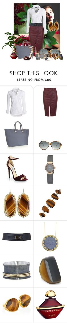 """In Cooperated"" by jokaren ❤ liked on Polyvore featuring Sophy Robson, NIC+ZOE, Miss Selfridge, Victoria Beckham, Prada, Skagen, Marc by Marc Jacobs, Kendra Scott, Maison Boinet and House of Harlow 1960"