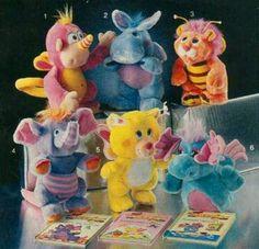 Wuzzles! Mid-1980's. Disney had an animated cartoon as well.