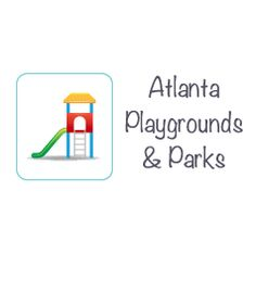 Playgrounds and parks in and near Atlanta, Georgia.