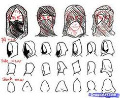 Hooded woman assassin - Google Search