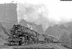 Chesapeake and Ohio Railroad Steam Locomotives