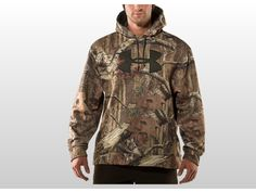under armour hoodies for men | Under Armour Men's Camouflage Big Logo Hunting Hoody | Sports ...