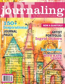 In every quarterly issue of Art Journaling, artists open their journals and share creative techniques for capturing their emotions.