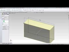 SolidWorks Tutorials for beginners Part (1/3)