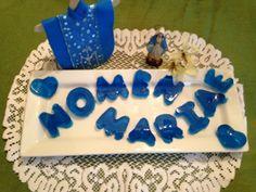 Familia Católica: Haz el nombre de María con gelatina - 12 de septiembre