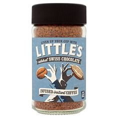 Little's Swiss Chocolate Flavour Infused Instant Coffee - Swiss Chocolate, Chocolate Flavors, Instant Coffee, Asian Quotes, Latte, Zayn, Kittens, Pizza, Engagement