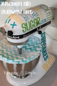 kitchen-aid-subway-art. this mixer is just happiness now!