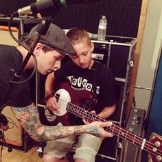 Justin and Katelynn's son.