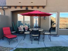 19th Hole Back Patio.  Stunning views of the Coral Canyon Golf Course