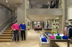 Louis Copeland & Sons store by Jennings design studio & Helen Turkington, Dublin   Ireland