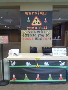 Warning!  VBS will expose you to Jesus and Fun!