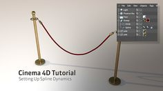 C4D Tutorial: Setting Up Spline Dynamics