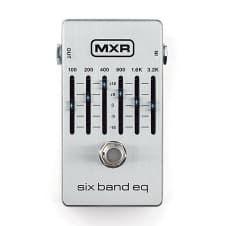 MXR M109S 6-Band Graphic EQ Guitar Bass Effects True Bypass Pedal Stompbox