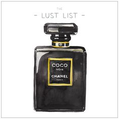 Our Lust List Perfume #cocochanel #perfume #thelustlist #sallyspratt