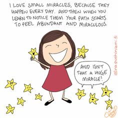 Good to know about Mira(cle)Doodles: Stars always represent miracles in these doodles and miracles are considered shifts in perception according to A Course in Miracles. Today this one was sent to your inbox in the new weekly Mira(cle) Monday newsletter!