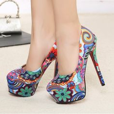2013 spring the new Symphony cloth the super high platform heels red soles high heels woman of unique can heels for women HH1122(China (Mainland))